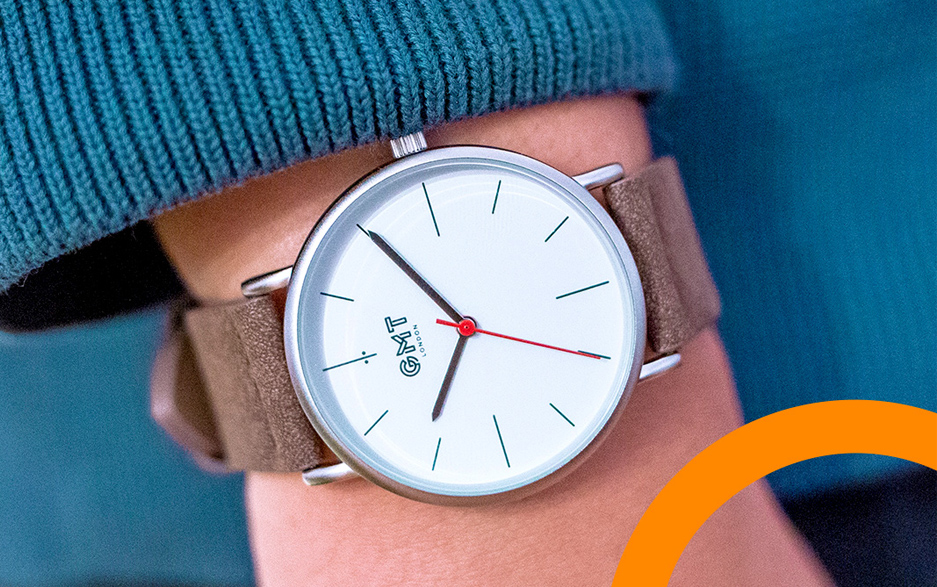 Simple yet bold watch designs for men and women which give you back the time to daydream!