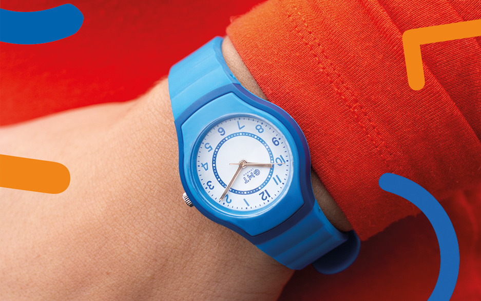 Our youth collection is packed full of children's watches with big personalities and a splash of colour!